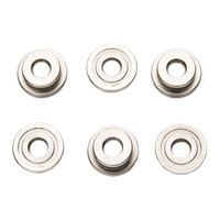 Lonex 6 mm Double Groove Stainless Bushing 6 Units